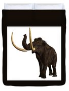 Woolly Mammoth Profile Duvet Cover