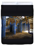Woolshed Blues Duvet Cover