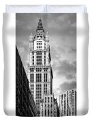 Woolworth Building Duvet Cover