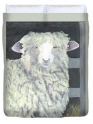 Wooly One Duvet Cover