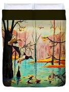 Wooodland Wonders Duvet Cover