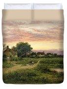 Worcestershire Cottages Duvet Cover