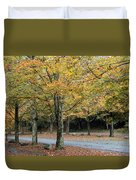Words End State Park Drive Duvet Cover
