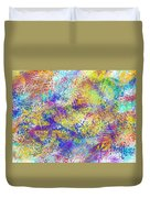 Work 00101 Abstraction Duvet Cover