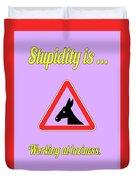 Working Bigstock Donkey 171252860 Duvet Cover