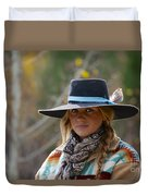 Working Cowgirl Duvet Cover