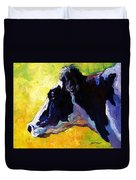 Working Girl - Holstein Cow Duvet Cover