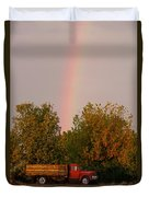 Working Rainbow Duvet Cover
