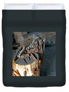 Working Tool Bench Duvet Cover