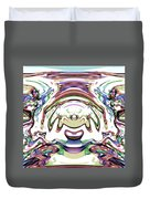 World At Peace Duvet Cover