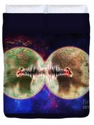 World Communications Duvet Cover