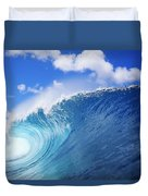 World Famous Pipeline Duvet Cover