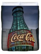 World Of Coca Cola Duvet Cover