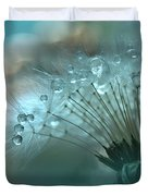 World Of The Drops... Duvet Cover