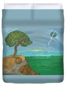 World On A String Duvet Cover