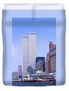 World Trade Center Duvet Cover
