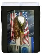 World Trade Towers Duvet Cover