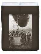 World War I: Balloon Duvet Cover