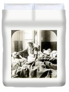 World War I: Nurse Duvet Cover