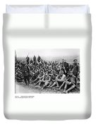 World War I: Prisoners Duvet Cover