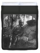 World War I: Soldier Duvet Cover