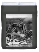 World War I: U.s. Artillery Duvet Cover