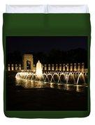 World War Memorial Duvet Cover