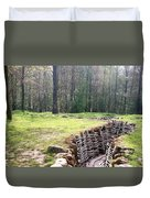 World War One Trenches Duvet Cover