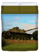 World War Two Tank Duvet Cover