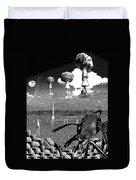 Book Illustation - World War Zero Duvet Cover