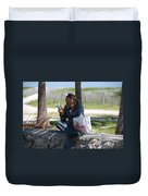 Worldly Posessions Duvet Cover