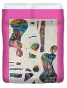 Worldly Women Duvet Cover