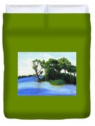 Worlds Away Off The Wye River Duvet Cover