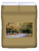 Worlds Ends State Park Road Duvet Cover