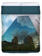 World's Largest Canvas John Hancock Tower Boston Ma Duvet Cover