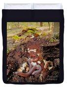 Worm Snake Duvet Cover