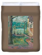 Worman House At Big Cedar Lodge Duvet Cover