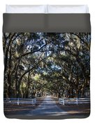 Wormsloe Avenue #2 Duvet Cover