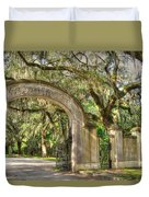 Wormsloe Gate Duvet Cover