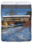 Worrall Covered Bridge Duvet Cover