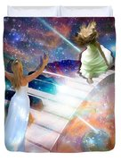 Worship In Spirit And In Truth Duvet Cover