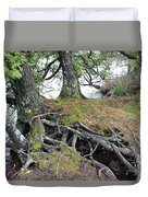 Woven Roots Duvet Cover