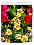 Wp Floral Study 1 2014 Duvet Cover