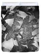Wrapped Leaves Duvet Cover