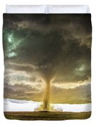 Wray Colorado Tornado 070 Duvet Cover