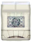 Wreath And Stone Duvet Cover