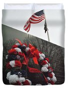 Wreath Of The Korean War Duvet Cover