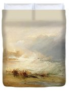 Wreckers - Coast Of Northumberland Duvet Cover