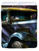 Wrecking Yard Fantasy Duvet Cover