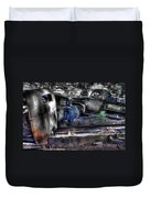 Wrecking Yard Study 12 Duvet Cover